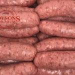 Beef and Horseradish Sausages