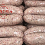 Boyson's Herby Sausages