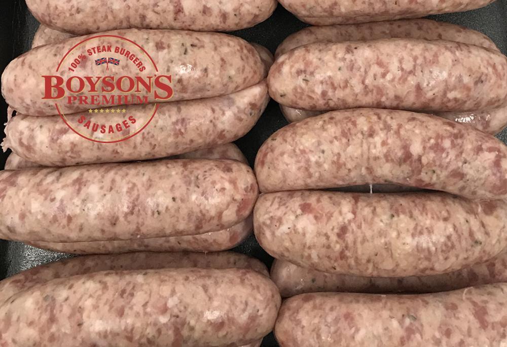 Classic Cumberland Sausages
