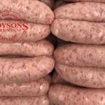 Honeyroast Pork Sausages